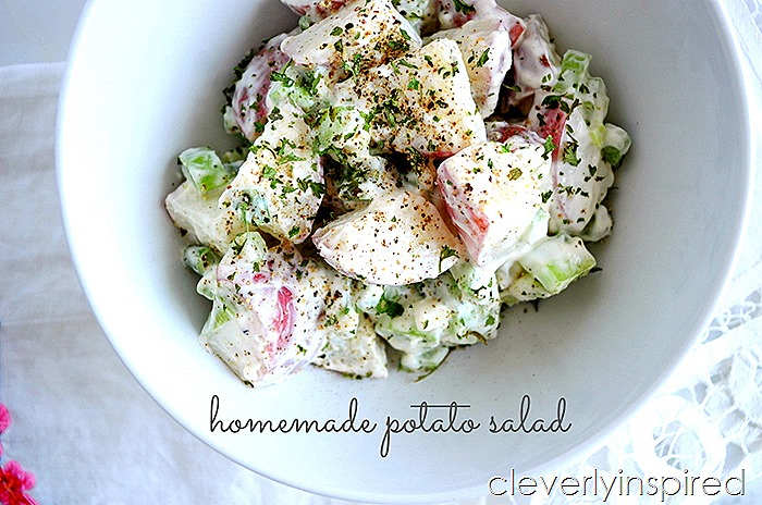 homemade potato salad @cleverlyinspired (5)