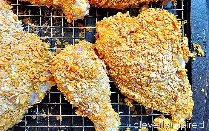 oven fried chicken @cleverlyinspired (1)