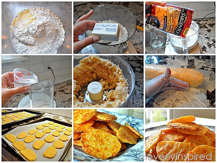 Homemade cheese crackers @cleverlyinspired (1)