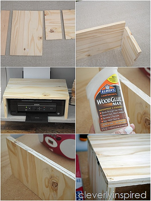 diy printer cover @cleverlyinspired (9)