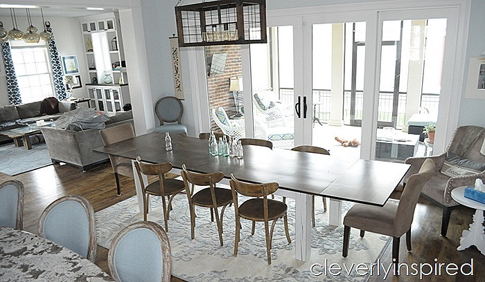 farmhouse dining table with extensions @cleverlyinspired (10)