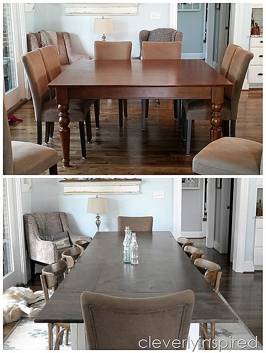 farmhouse dining table with extensions @cleverlyinspired (12)