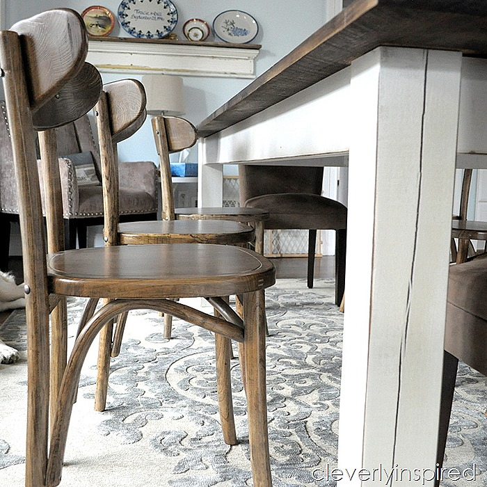 farmhouse dining table with extensions @cleverlyinspired (2)