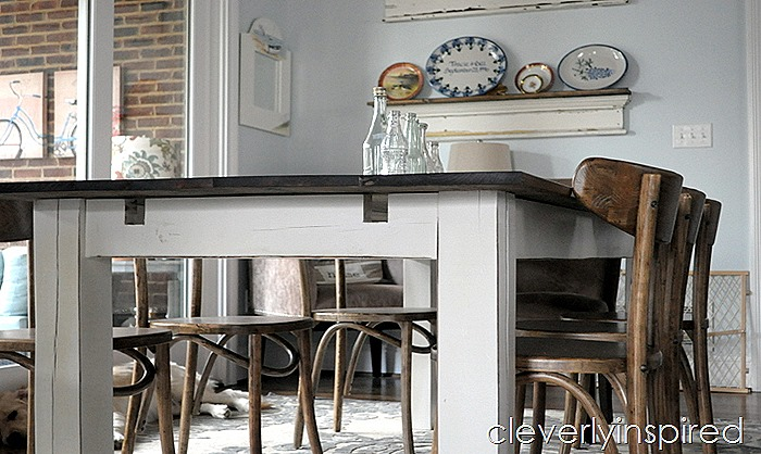 farmhouse dining table with extensions @cleverlyinspired (3)
