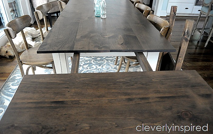 farmhouse dining table with extensions @cleverlyinspired (5)