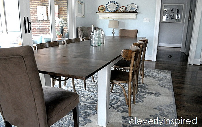 farmhouse dining table with extensions @cleverlyinspired (7)