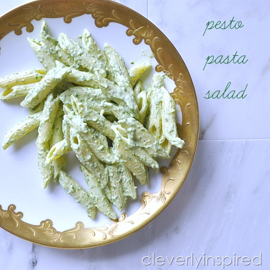 pesto pasta salad @cleverlyinspired (5)