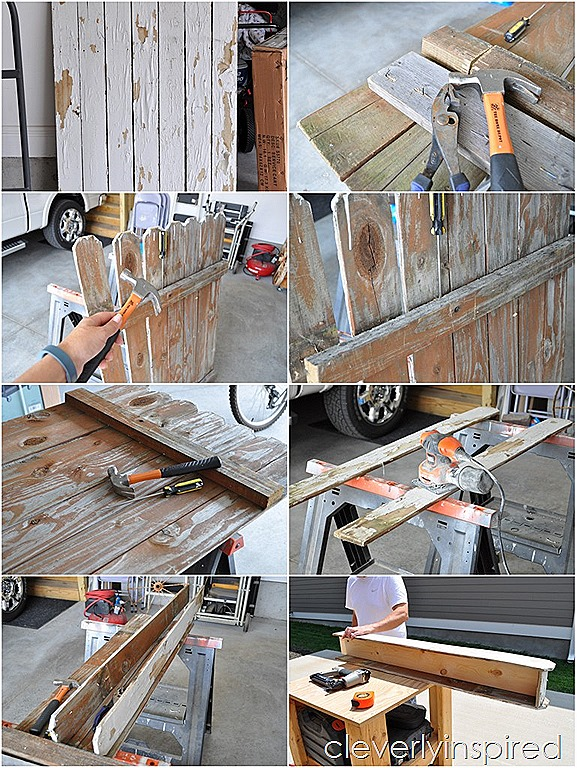 craft  wood picket fences project