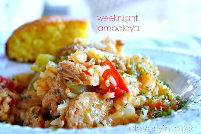 easy weeknight jambalaya@cleverlyinspired (8)