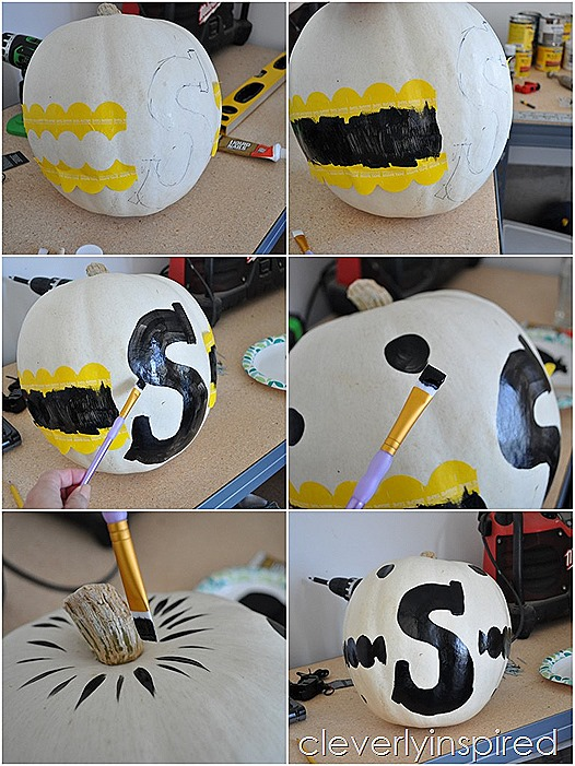 polka dot pumpkin @cleverlyinspired (1)