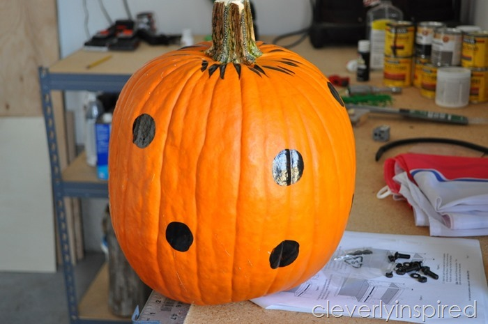 polka dot pumpkin @cleverlyinspired (3)
