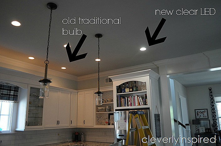 brightest recessed lighting for kitchen @cleverlyinspired (1)cv