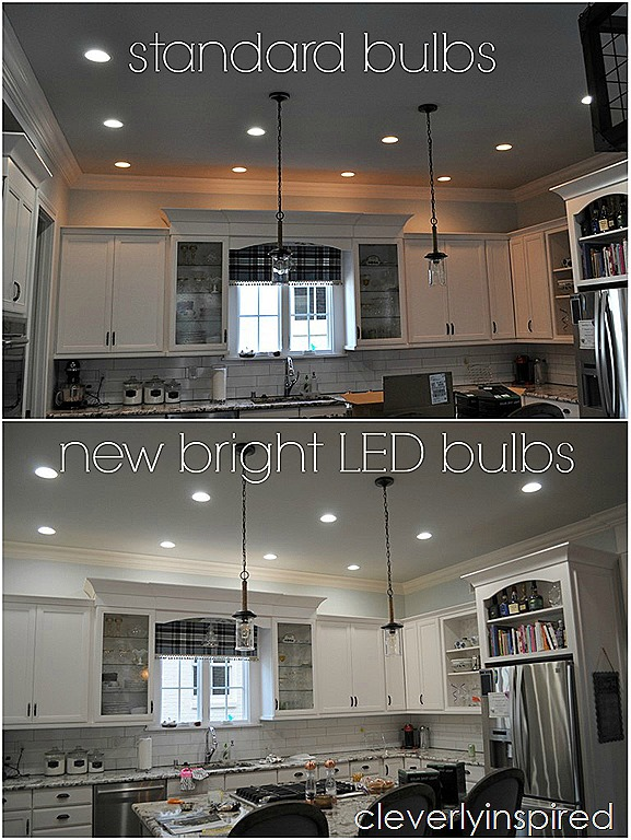 brightest recessed lighting for kitchen cleverly inspired. Black Bedroom Furniture Sets. Home Design Ideas