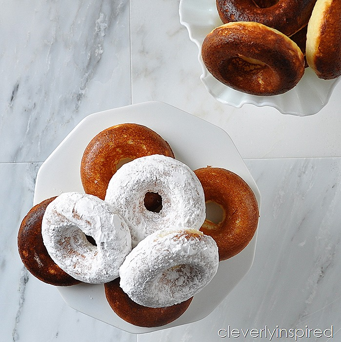 fluffy vanilla baked donuts @cleverlyinspired (4)
