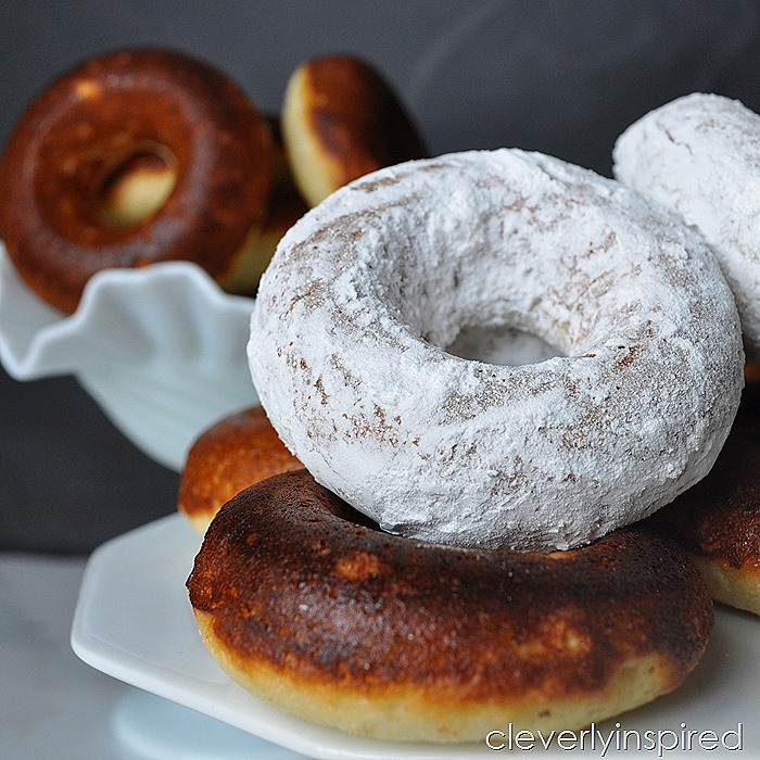 fluffy vanilla baked donuts @cleverlyinspired (5)