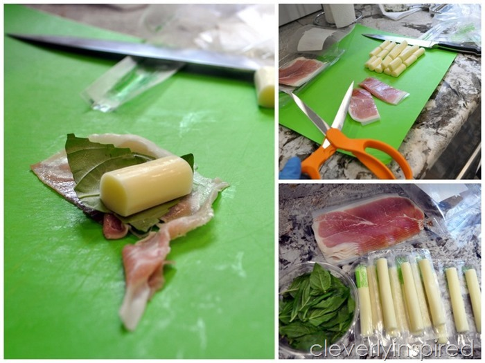 prosciutto wrapped cheese appetizer @cleverlyinspired (3)