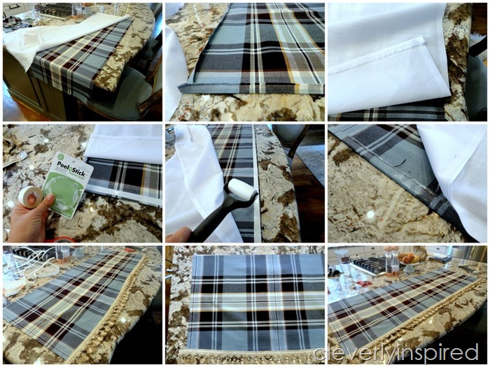 Easy no sew interchangeable valance @cleverlyinspired (1)
