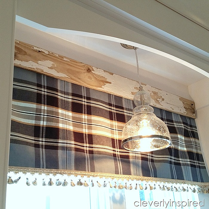 Easy no sew interchangeable valance @cleverlyinspired (3)