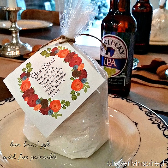 beer bread gift in jar @cleverlyinspired