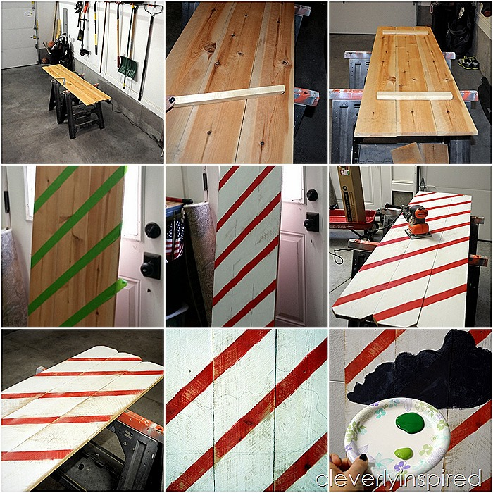 DIY large christmas sign @cleverlyinspired (2)
