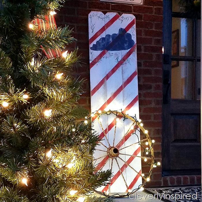 DIY large christmas sign @cleverlyinspired (3)