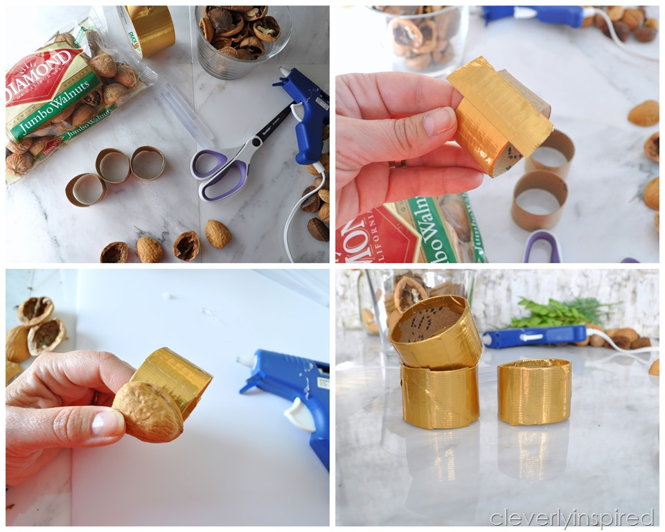 Recycled Nutshell Napkin Holder Cleverly Inspired