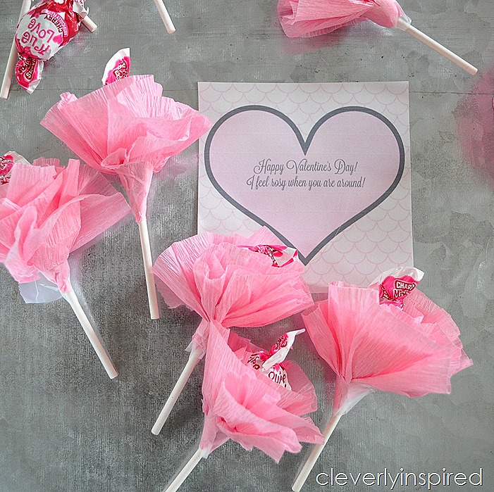 flower lollipop valentine @cleverlyinspired (2)