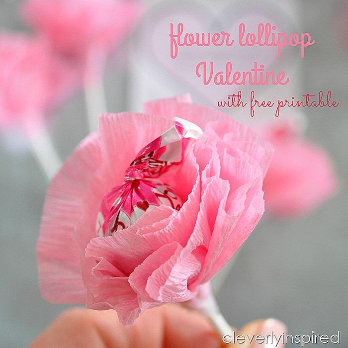 flower lollipop valentine @cleverlyinspired (5)