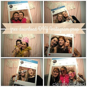 DIY Instagram Photo Prop free download