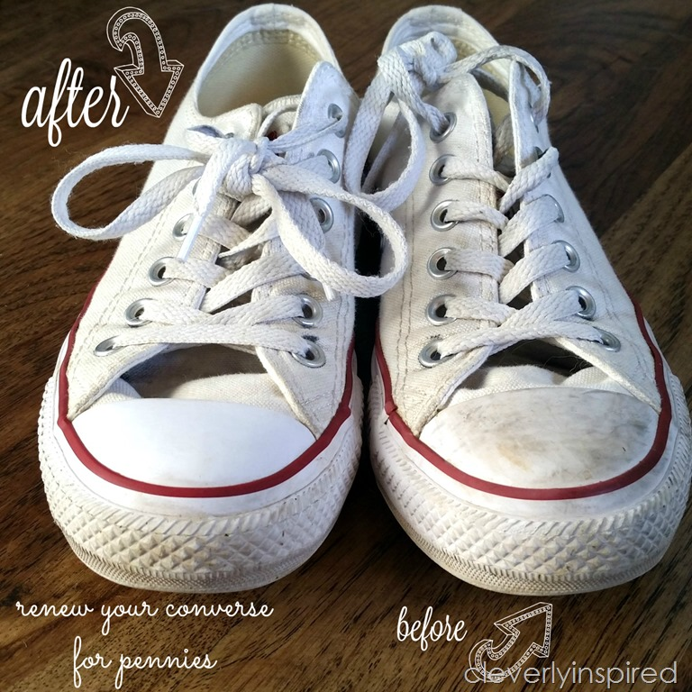 2ec0a69ccf82 DIY shoe cleaner (how to remove scuff marks on converse) - Cleverly ...