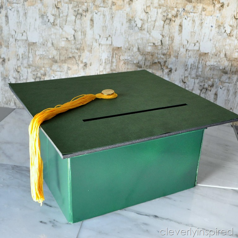 Diy Graduation Gift Card Box Cleverly Inspired