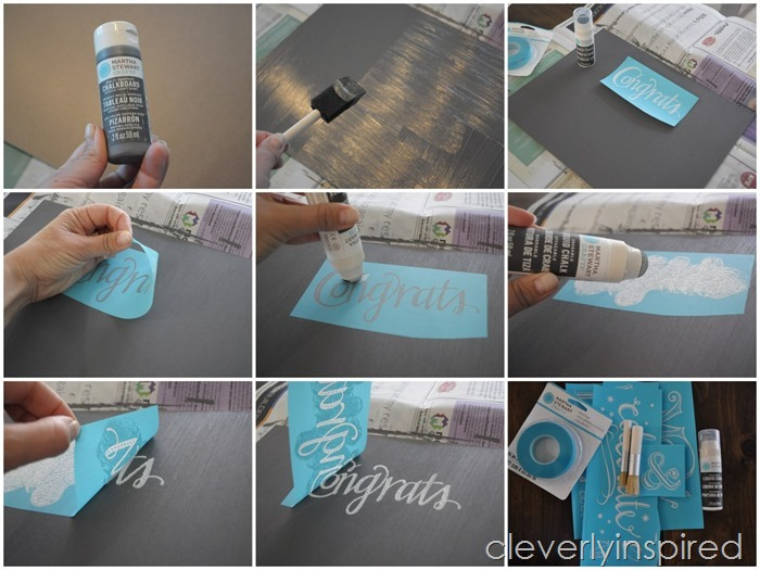 DIY chalkboard sign @cleverlyinspired (1)