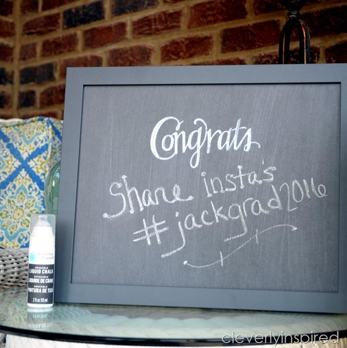 DIY chalkboard sign @cleverlyinspired (3)