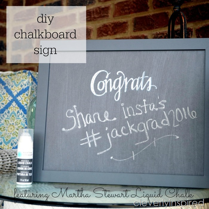 DIY chalkboard sign @cleverlyinspired (3)cv