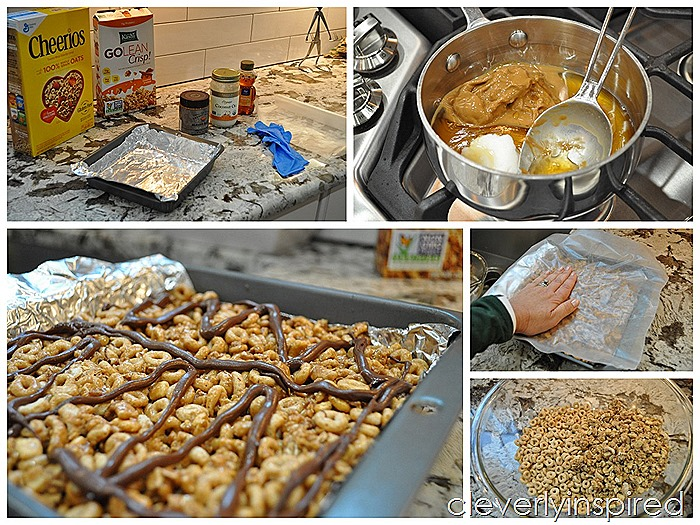 homemade cereal bar