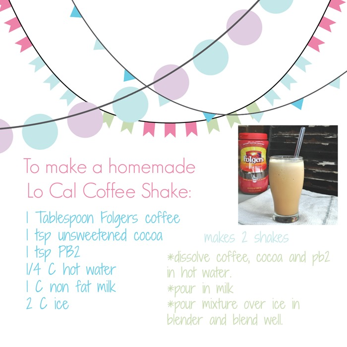 low cal coffee shake and free printable @cleverlyinspired (7)