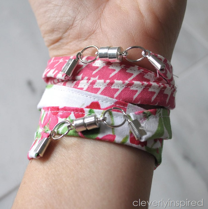 sew a wrap bracelet @cleverlyinspired (1)