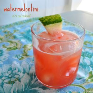 Watermelon Cocktail (Low cal cocktail)