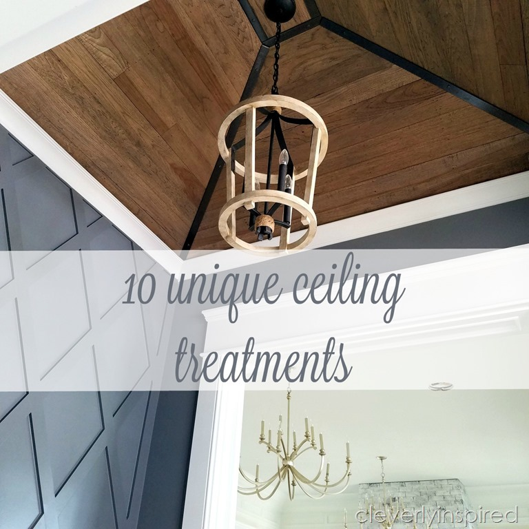 10 Unique Ceiling Ideas Cleverly Inspired