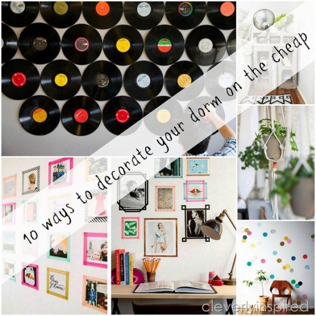 10 cheap ways to decorate your dorm room