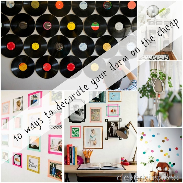 10 cheap ways to decorate your dorm @cleverlyinspired (11)