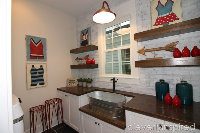 farmhouse laundry room @cleverlyinspired (1)