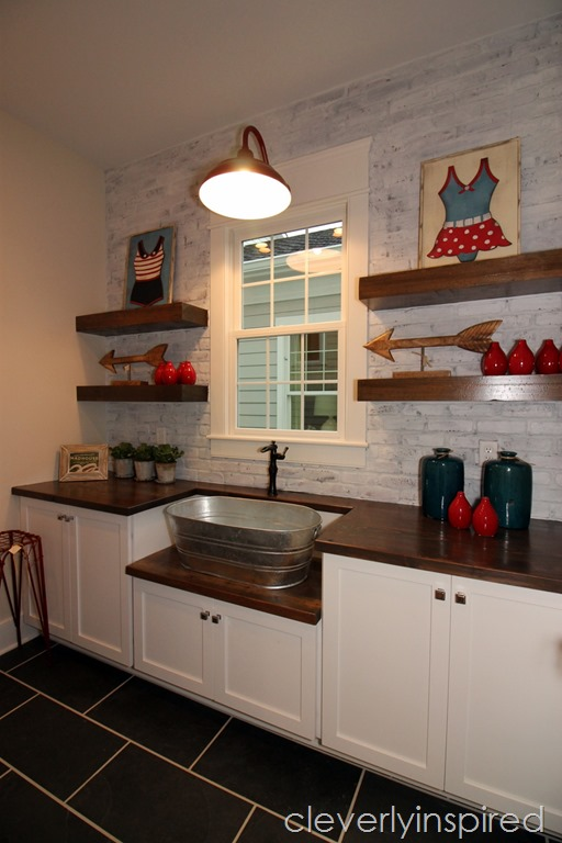 Farmhouse Laundry Room Cleverlyinspired 8