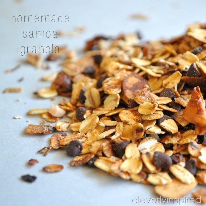 homemade samoa granola @cleverlyinspired (5)