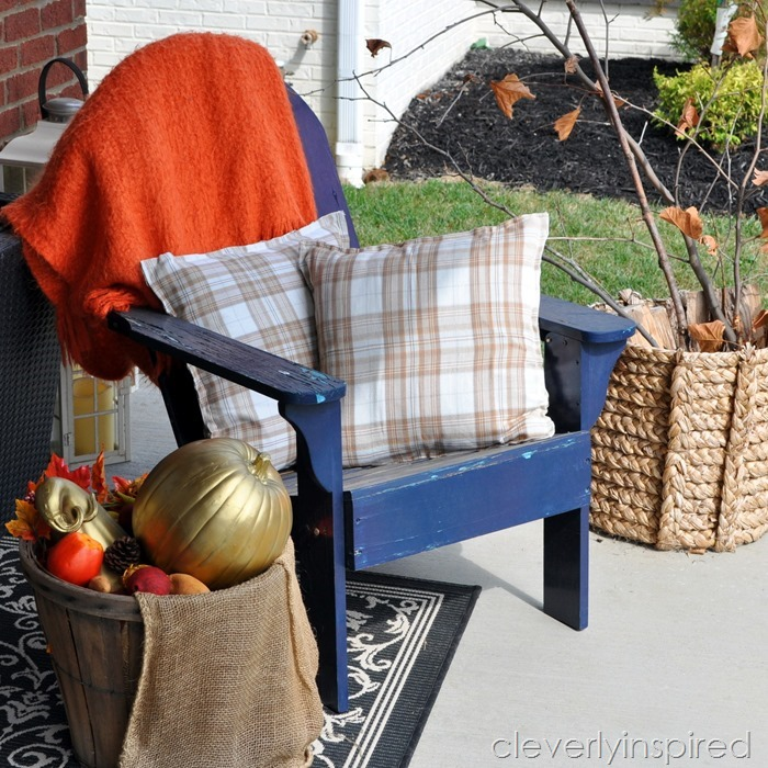 no sew fall pillows @cleverlyinspired (3)