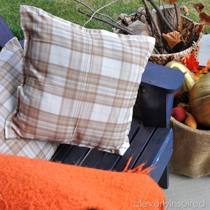 no sew fall pillows @cleverlyinspired (6)