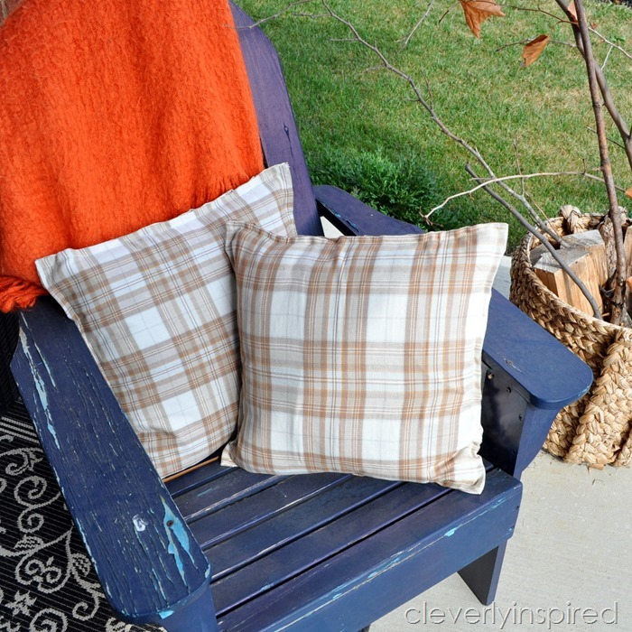 no sew fall pillows @cleverlyinspired (7)