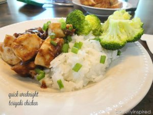 Quick & Easy Weeknight Teriyaki Chicken