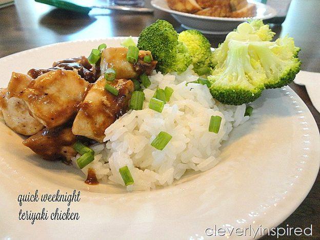 Quick & Easy Weeknight Teriyaki Chicken