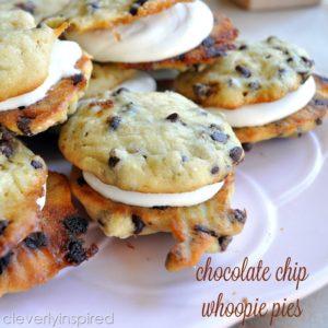 Chocolate Chip Whoopie Pie Recipe